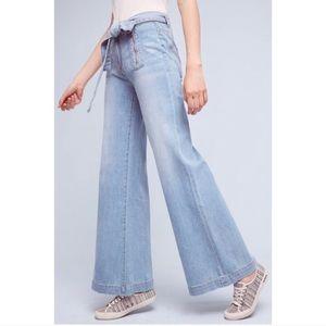 Anthropologie Pilcro & the Letterpress Wide Jeans